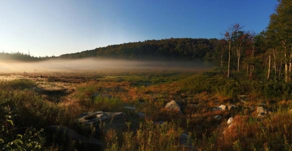 Our last sunrise in Vermont